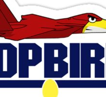 Top Bird Sticker