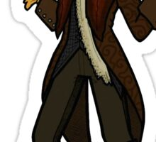 Once Upon A Time Rumplestiltskin The Doctor Sticker