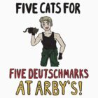 Five Cats for Five Deutsch Marks by SevLovesLily