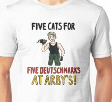Five Cats for Five Deutsch Marks Unisex T-Shirt