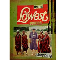 on the lowest prices shopping Photographic Print