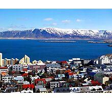 Reykjavik, Iceland Photographic Print