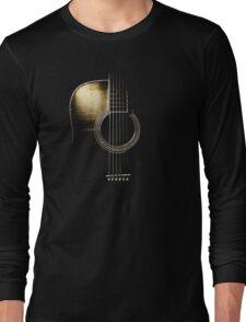 Acoustic Guitar Lite (please see description) Long Sleeve T-Shirt