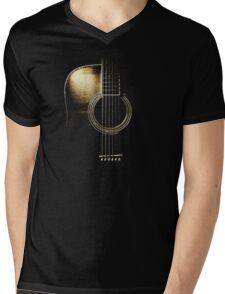 Acoustic Guitar Lite (please see description) Mens V-Neck T-Shirt