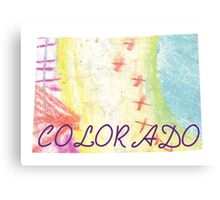 Colorful CO Canvas Print