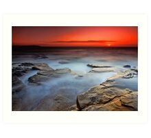 Dee Why Sunrise Art Print