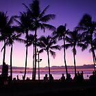 Underneath the Palm Trees | Waikiki Beach 2012 by RedDash