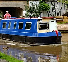 Canal Barge by AnnDixon