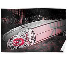 Surf Board | Waikiki Beach Hawaii 2012 Poster