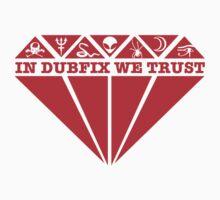 Dubfixx Diamond Red Kids Tee