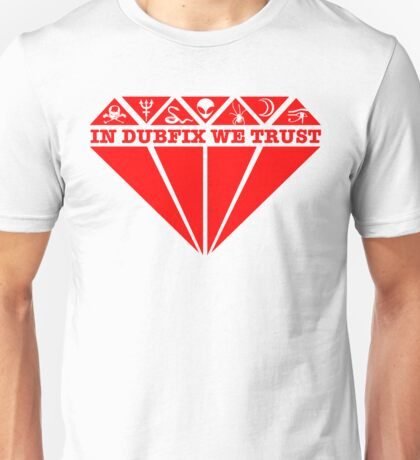 Dubfixx Diamond Red Unisex T-Shirt