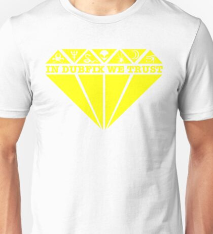 Dubfixx Diamond Yellow Unisex T-Shirt
