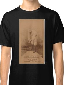 Benjamin K Edwards Collection Hick Carpenter Cincinnati Red Stockings baseball card portrait 001 Classic T-Shirt