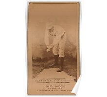 Benjamin K Edwards Collection Hick Carpenter Cincinnati Red Stockings baseball card portrait 001 Poster