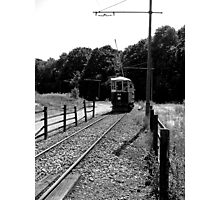 Last Tram Home Photographic Print