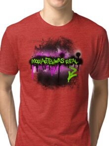 Moriarty was real (madness) Tri-blend T-Shirt
