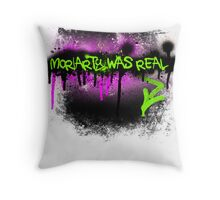 Moriarty was real (madness) Throw Pillow
