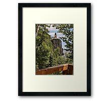 Split Rock Lighthouse View Framed Print