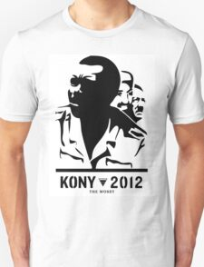 Kony 2012 (black & white) T-Shirt