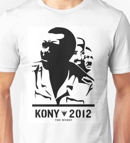 Kony 2012 (black & white) Unisex T-Shirt