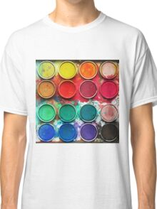 Paintbox Color Palette Classic T-Shirt