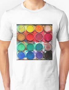 Paintbox Color Palette T-Shirt