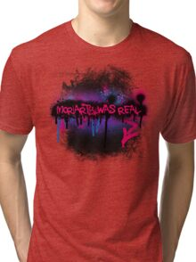 Moriarty was real (berry) Tri-blend T-Shirt