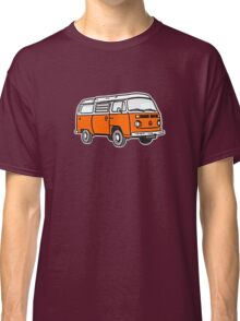 Bay Window Campervan Orange Classic T-Shirt