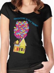 Balloon House Tee Women's Fitted Scoop T-Shirt