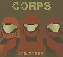 ODST: Enlist Poster by Jamasia