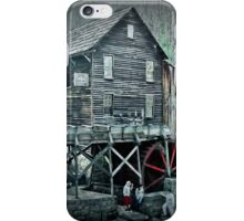 Finishes As Grist  iPhone Case/Skin