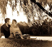 Expectant Couple by Emma  Gilette