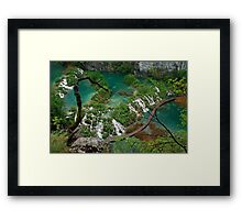 Plitvice National Park - Croatia Framed Print