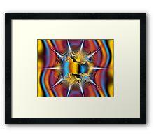 Sun Spikes Framed Print
