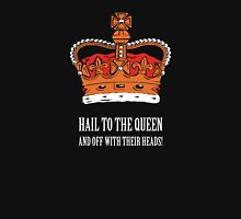 Hail to the Queen! (Small) Womens Fitted T-Shirt