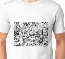Manga collage Unisex T-Shirt