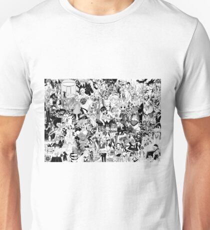 Manga collage Unisex T-Shirt