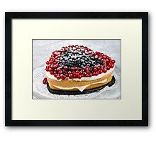 Berries and Biscuit Framed Print