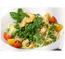 Spaghetti, Peas and Frutti di Mare Poster