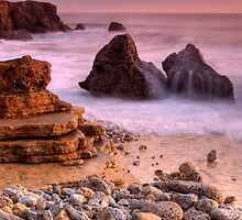 Waves over Rocks by Great North Views