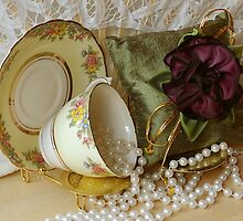 Pearls and gold by Marjorie Wallace