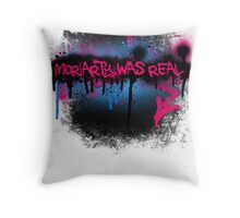 Moriarty was real (bubblegum) Throw Pillow