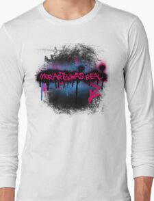 Moriarty was real (bubblegum) Long Sleeve T-Shirt