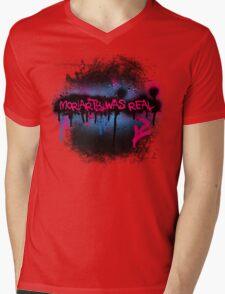 Moriarty was real (bubblegum) Mens V-Neck T-Shirt