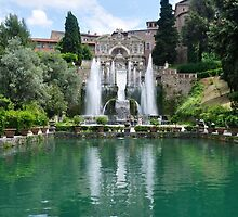 Villa d'Este by Lisa Williams