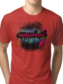 Moriarty was real (rave) Tri-blend T-Shirt