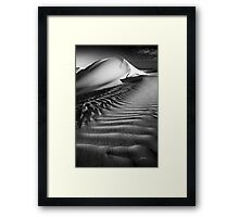 Textures and Tones Framed Print