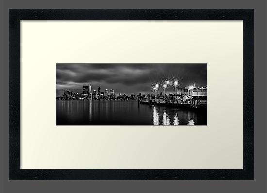 Perth City Skyline by Mieke Boynton
