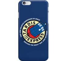 Tardis Express Futurama Doctor Who iPhone Case/Skin