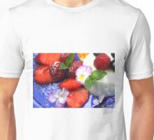 Yoghurt Mousse and Fresh Berries Unisex T-Shirt